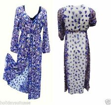 Polyester Summer/Beach Machine Washable Maxi Dresses for Women
