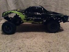Traxxas Slash 1/10 2WD RC Monster Energy Ready To Ride