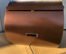 Copper Contemporary Wall Mounted Exterior Post box mailbox outdoor