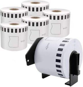 Label fits Brother Printers QL500 QL560 QL570 QL580 QL700 QL720NW QL1050