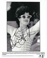 Melanie Griffith Hand Signed Autographed 8x10 Photo Sexy Black & White GA 728736
