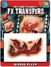 Tinsley Transfers Ripped Flesh Prosthetic Special Effects Makeup Horror 3D FX