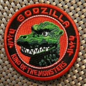 Godzilla King Monsters Japan Embroidered Patch Iron-On Sew-On US shipping