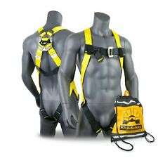 Kwiksafety Tornado 1d Ring Fall Protection Full Body Safety Harness Ansi Osha