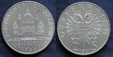 MONETA COIN AUSTRIA REPUBLIK ÖSTERREICH 2 SCHILLING 1737-1937 ARGENTO SILVER  #2