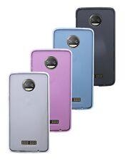 Lenovo MOTO z2 Force // accessori GUSCIO per cellulare Bumper Colore A Libera Scelta 4 colori