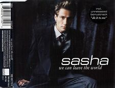 SASHA : WE CAN LEAVE THE WORLD / CD