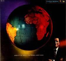 INTERNATIONAL LP SONGS OF THE WORLD NORMAN LUBOFF CHOIR 2 RECORD SET GATEFOLD
