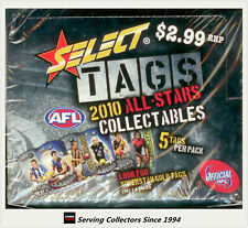 2010 Select AFL Stars Collectable Tags Factory Box (36 packs)