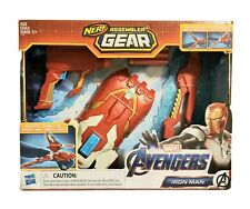 Hasbro Marvel Avengers Iron Man Nerf Assembler Gear Brand New in Box