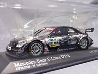Minichamps Mercedes Benz C DTM 1/43 Scale Box Mini Car Display Diecast CA3383