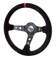 PIT* Volante Auto in Camoscio Simoni Racing Fiat 500 126 Epoca