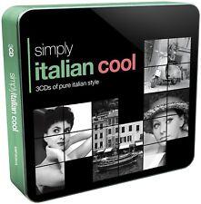 Simply Italian Cool (3cd Tin) 3 CD NUOVO