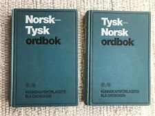 Wörterbücher Norwegisch-Deutsch u. Deutsch-Norwegisch tysk-norsk norsk-tysk geb
