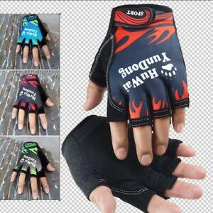 Women Men Gloves Driving Thinness  Sport Exercise Training Half Gloves