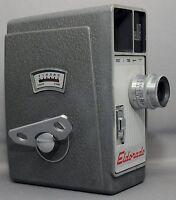 DeJUR EIGHT Eldorado 8mm Vintage Movie Camera f2.5 Chromtar Clean Works