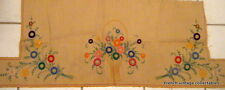 French Antique Embroidery Table Linens