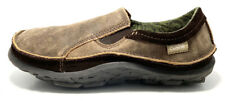 Cushe Dawn Patrol Brown Leather Men's Slip On Slipper Shoes Size 9