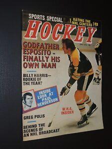 Vintage 1973 Sports Special Hockey Phil Esposito Boston Bruins *FREE SHIPPING*