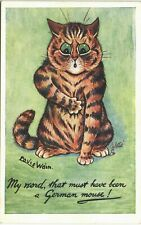 More details for louis wain cats. my word, that must have been a german mouse # 8850 by tuck.