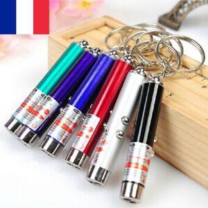 Lot 5X Stylo Laser Pointeur Porte Clé Chat Chien Led Enfants Jouet Lazer Lampe