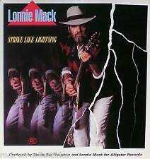 LONNIE MACK 1985 STRIKE LIKE LIGHTNING PROMO POSTER ORIGINAL