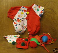 Tender Heart Treasures #82030 CLOWN outfit NEW from our Retail Store