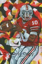 Troy Smith Ohio State Painting Heisman 49ers Ravens