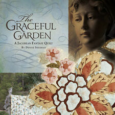 GRACEFUL GARDEN Jacobean Fantasy Quilt Applique NEW BOOK Denise Sheehan BOM