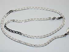 17.5inch 3mm white ladies mens chain CH42 gift bargain express delivery
