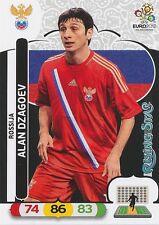 ALAN DZAGOEV # RISING STAR 1/30 RUSSIA ROSSIJA CARD PANINI ADRENALYN EURO 2012