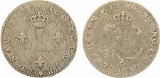Louis XV, double sol (2 sous), 1739 Rouen, billon - 53