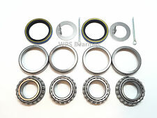 Trailer Hub Wheel Bearing Kit L44649 Seal 1.500'' for 2000# Axle Spindle 1.063''