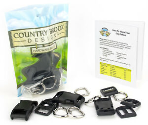 Country Brook Design® 3/4 Inch Deluxe Dog Collar Kit