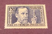France Stamp Scott#  B53 Louis Pasteur 1936-37 MH   C220
