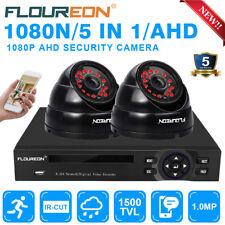 CCTV 4CH 1080N HDMI DVR Outdoor 1500TVL IR Night Camera Home Security System Kit
