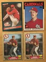 Todd Worrel (4) Rookie Cards
