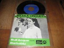 Gigliola Cinquetti.A.Sull 'acqua .B.Barbablu.(2110)