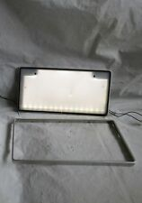 """ LED "" Genuine JDM japan License Plates ILLUMINATED light up Holder box frame"