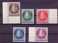 Berlin 1951 - Glocke Links - MiNr. 75/79 postfrisch**- Michel 100,00 € (368)