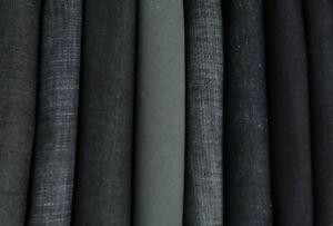 4,90 kg Stoffpaket Jeans Schwarz Blau Grau Denim Meterware elastisch Hose Rock