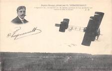 CPA AVIATION BIPLAN GOUPY PILOTE PAR P.VERGNIEAULT