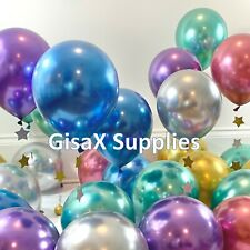 75 pcs Metallic Latex Balloons12