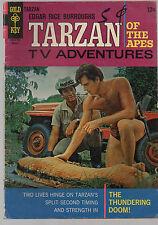 Tarzan 165    Ron Ely photo cover    Gold Key 1967