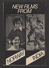National Film Theatre May-Aug 1975 NEW FILMS FROM NORWAY & INDIA