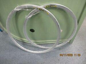 Vintage Mavic SUP CXP 30 clincher rims, 700c, 28H, 1 pair, NOS