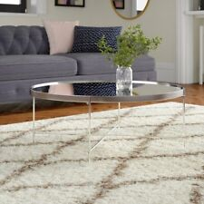 Oakland Nickle  Coffee Table by Canora Grey New FREE POSTAGE