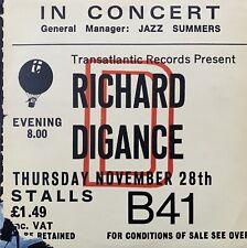 RICHARD DIGANCE In Concert VINYL LP Original 1976 TRANSATLANTIC UK EX