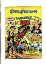 CINO E FRANCO# I PRIGIONIERi DELL'ISOLA #N.5 Marzo 1962#Ed.Americane#Nuova Serie