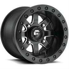 Fuel Off-Road D938 Maverick 15x7 4+3 4/136 Black Beadlock Wheel  D9381570A644